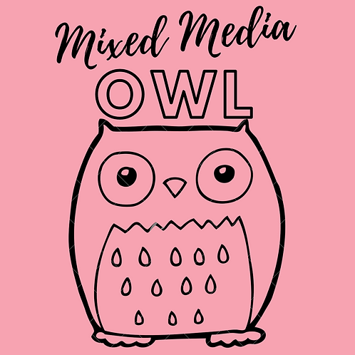 Owl Mixed Media E-Course (2Parts)