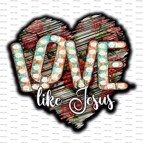 Love Like Jesus #1
