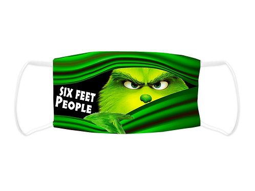 Six Feet People Face Mask (Non Medical Grade)