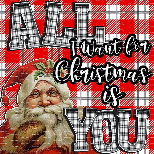 All I Want For Christmas Is You -Plaid2