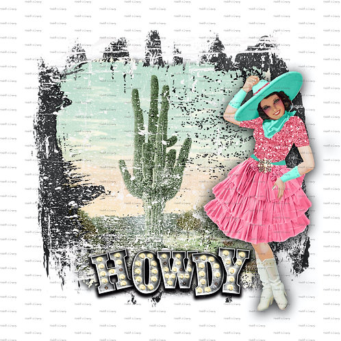 Howdy Cactus~Cowgirl