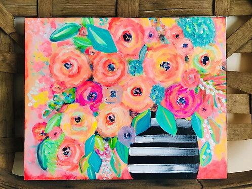 Pretty Poppies - Original Art