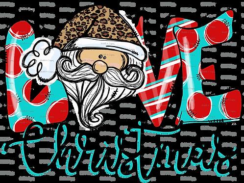 Love Santa - TShirt
