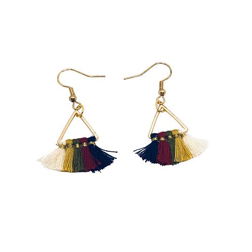 Petite Tassel Fan Earrings -2 Choices!