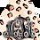 Thumbnail: Monogram Earrings - Boho Cheetah