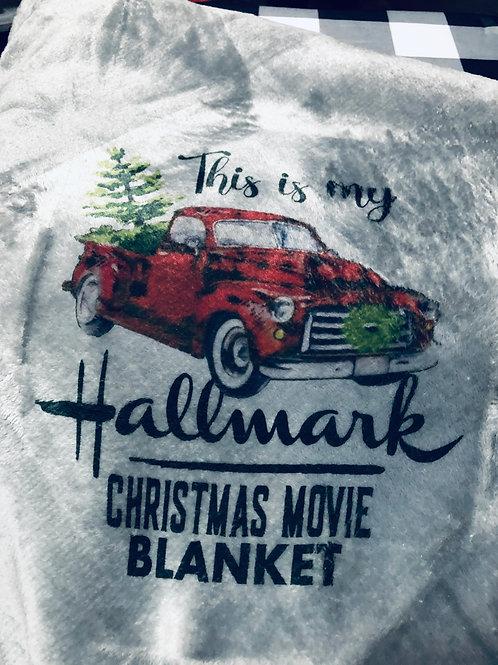 Movie Watching Blanket - (Light Gray))