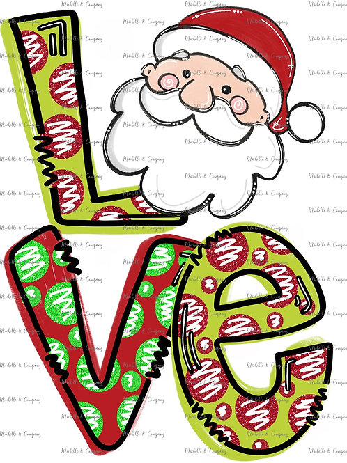 Santa Love - TShirt