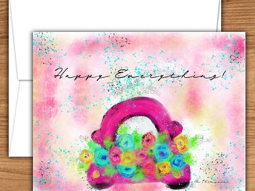 Transportation Art - Note Cards