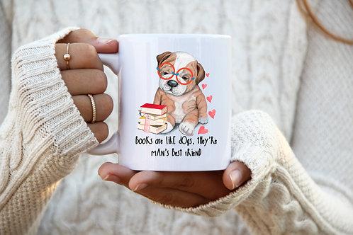 Books Are Like Dogs - Mug