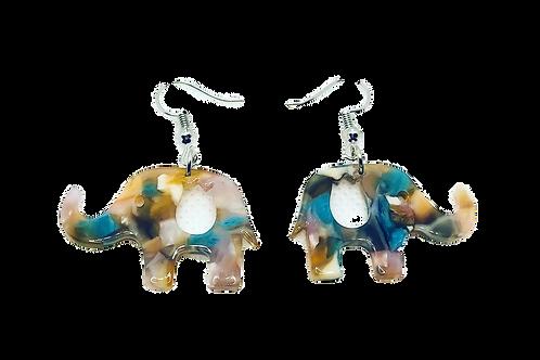 Elephant Earrings - Petite
