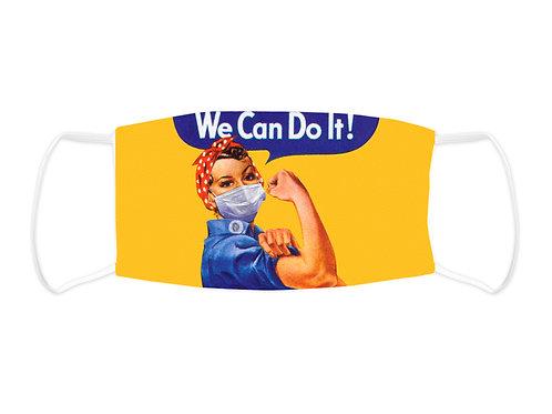 We Can Do It  - Face Mask  (Non Medical Grade)