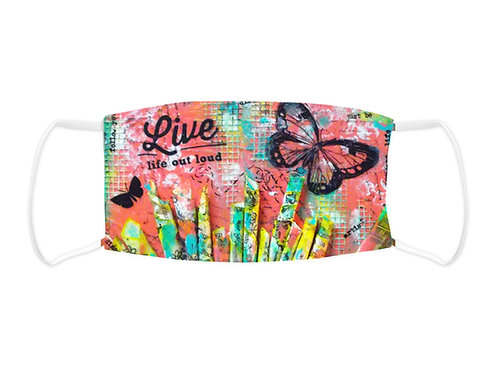 Live Out Loud - Face Mask  (Non Medical Grade)