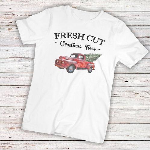 Fresh Cut Christmas Trees - TShirt