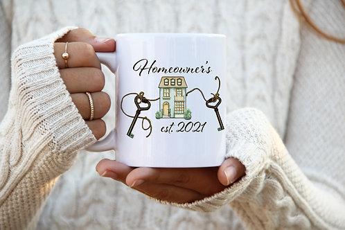 Homeowner's Mug - House&Keys