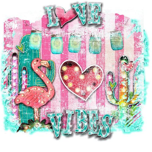 Love Vibes ~ Flamingo