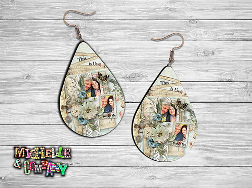 This is Us - Personalized Earrings