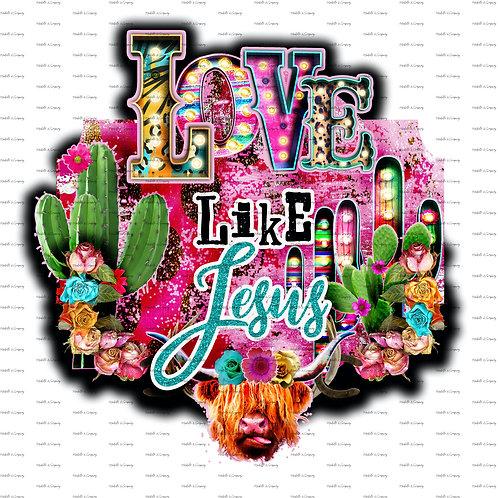 Love Like Jesus #2