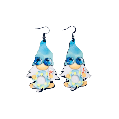 Beach Baby Gnome Earrings