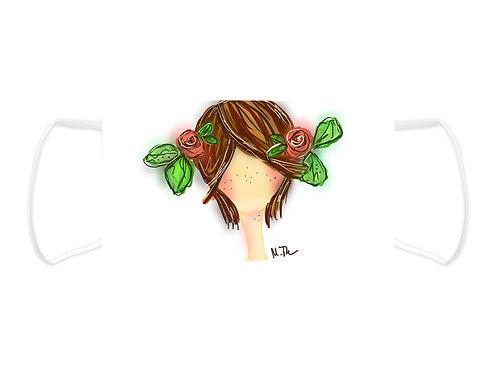 Flower Girl - Face Mask  (Non Medical Grade)