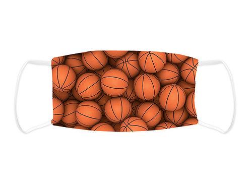Basketballs  - Face Mask  (Non Medical Grade)