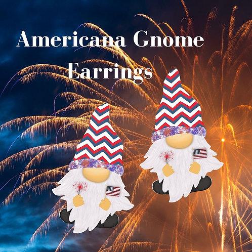 Americana Gnome Earrings