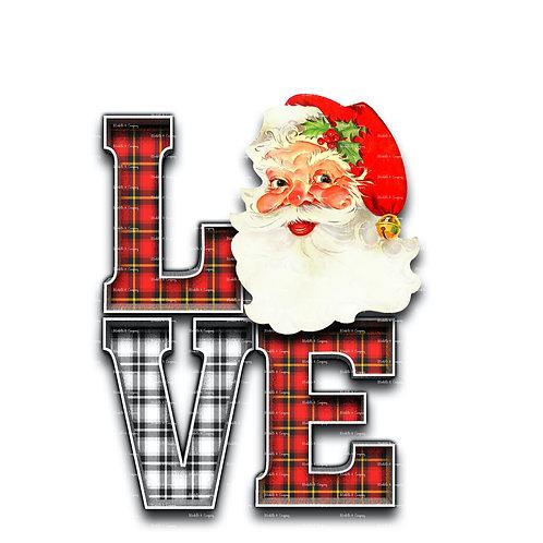 Love Santa Face
