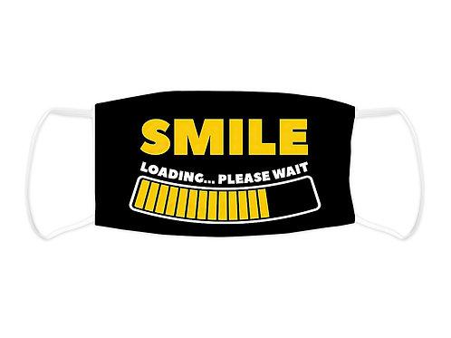 Smile Loading Please Wait - Face Mask  (Non Medical Grade)