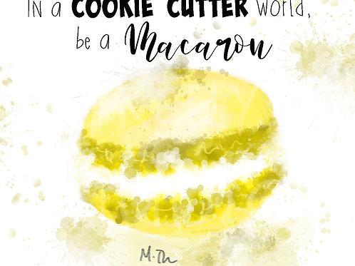 Be A Macaron -Yellow