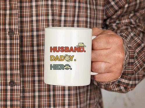 Husband   Daddy   Hero - Mug