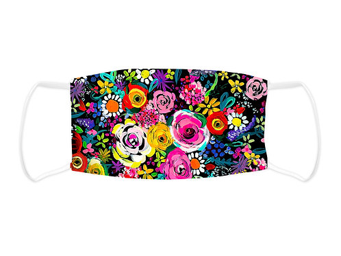 Painted Florals - Face Mask  (Non Medical Grade)