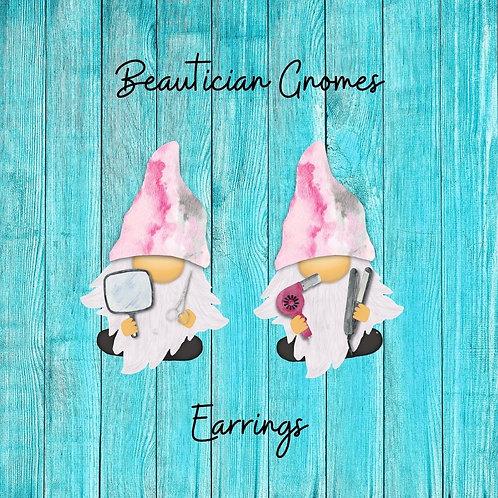 Beautician Gnome Earrings