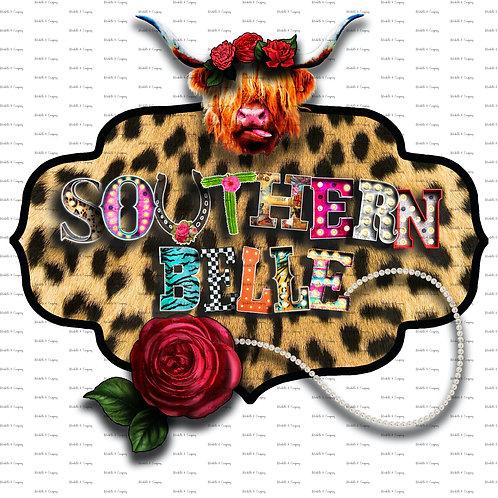 Southern Belle - Cheetah & Pearls