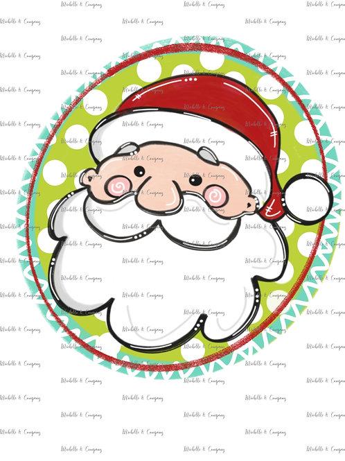 Santa Face - TShirt