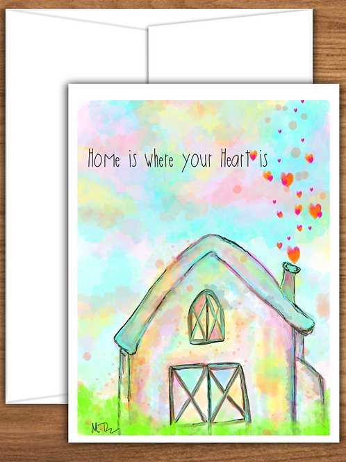 Homes & Structures Art - Note Cards