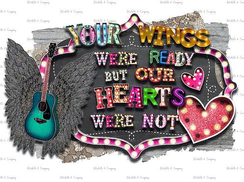 Wings Were Ready (Guitar)