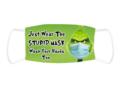 Just Wear The Mask - Face Mask (Non Medical Grade)