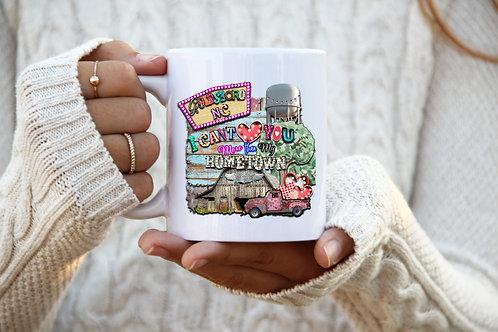My Hometown Mug - Personalize It!