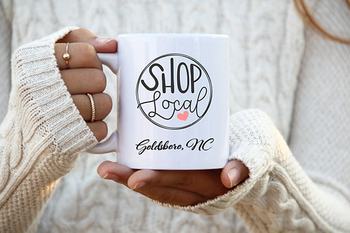 Shop Local - Personalized Mug