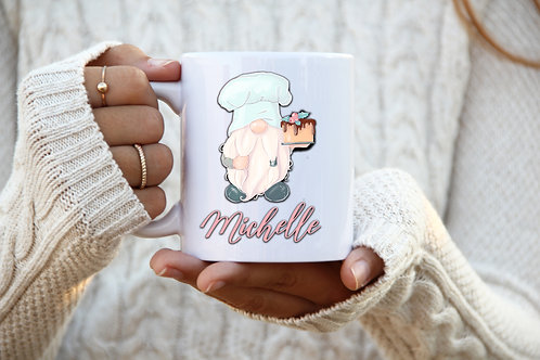 Baker Gnome Personalized Mug