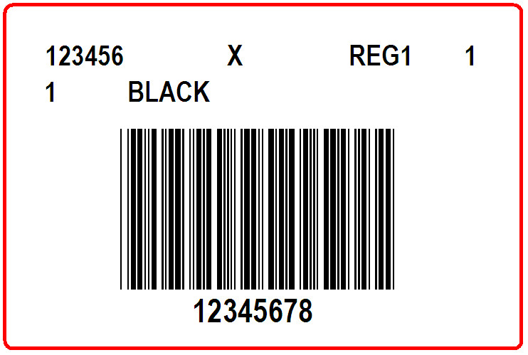 REITMANS - LABEL - 3 X 2
