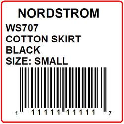 NORDSTROM - LABEL - 2 X 2
