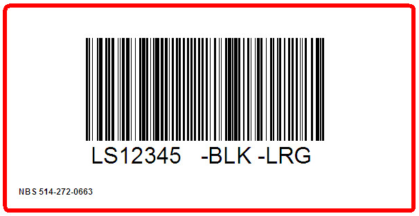 ORCHARD BRANDS - LINING SOURCE - LABEL - 4 X 2
