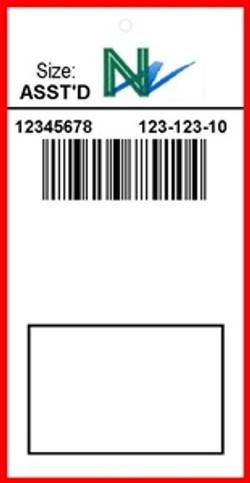 THE NORTHWEST COMPANY - TAG - 1.375 X 2.75