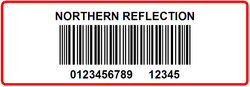 NORTHERN REFLECTION - LABEL - 3 X 1