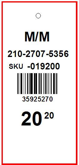SUZY SHIER - TAG - 1.5 x 3.25