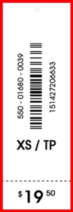 LA SENZA - TAG - 1 X 3.05