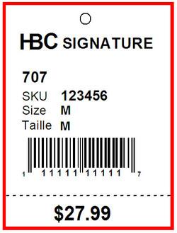 HBC SIGNATURE - TAG - 1.5 x 2