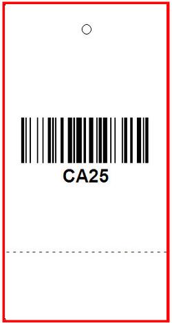 CARHARTT - TAG - 1.375 X 3.375 BACK
