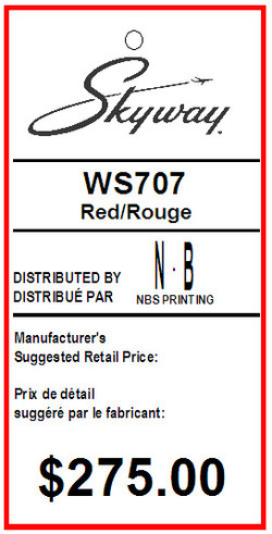 BENTLY - SKYWAY - TAG - 1.375 X 2.75