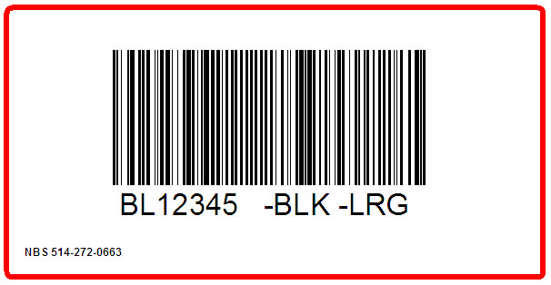 ORCHARD BRANDS - BLAIR - LABEL - 4 X 2